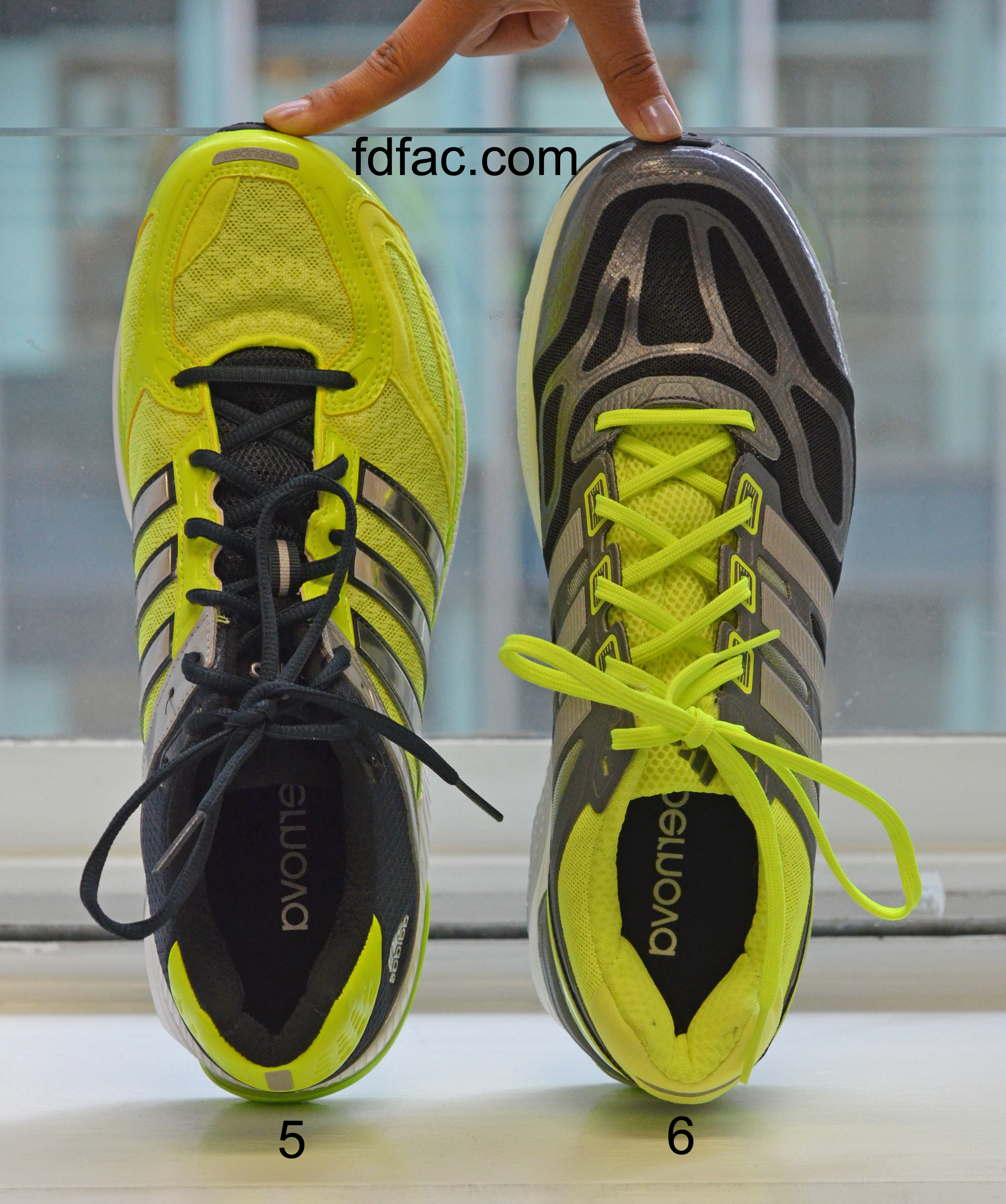 Shoe Review – Adidas Supernova Sequence 6 vs. 5 | Dr. Jenny ...